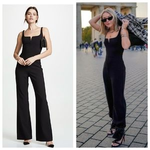 NEW LIKELY Constance Black V Neck Party Jumpsuit